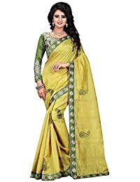 Sarees For Women's Clothing Saree For Women Latest Design Wear Sarees New Collection In GREEN Coloured BHAGALPURI...
