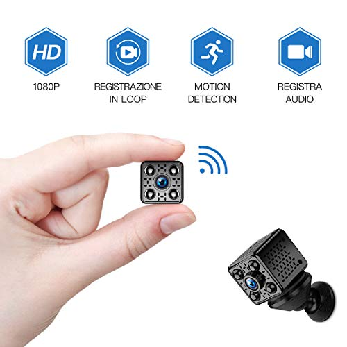 Mini Kamera FREDI WLAN Wireless Mini Überwachungskamera