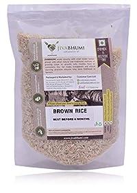 Jivabhumi Organic Brown Rice, 1 kg