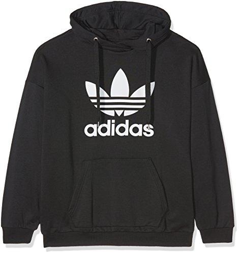 adidas Damen Trefoil Sweatshirt Black