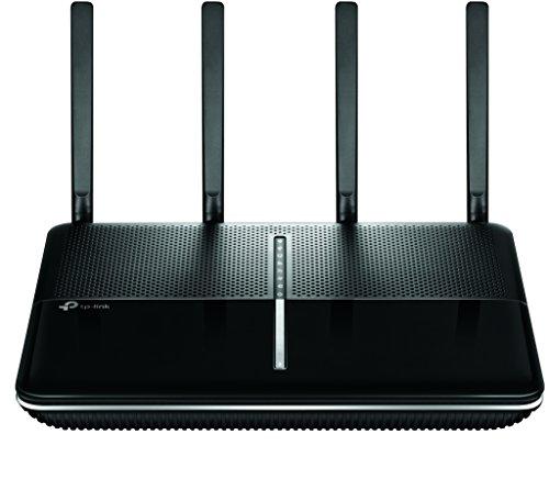 TP-Link Archer VR2800v AC2800 WLAN-Telefonie-DSL-Router (V35b/VDSL-/ADSL-Modem, 2167 Mbit/s (5 GHz), 600 Mbit/s (2.4GHz), kompatibel mit Telekom/1&1/Vodafone/O2 u.a., DECT Basis und Mediaserver)