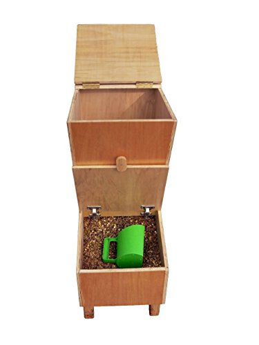 time4horses 110ltr FIFO Futterkiste Futterbox Futtertonne Futterbehälter Futter Kiste Box Tonne