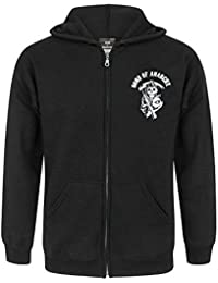 Official Sons Of Anarchy SAMCRO Men's Zip Up Hoodie
