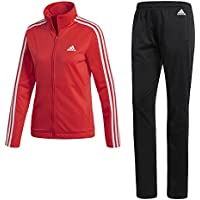 adidas Back2Bas 3S Ts Chándal, Mujer, Multicolor (Rojo/Blanco/Negro), 2XL
