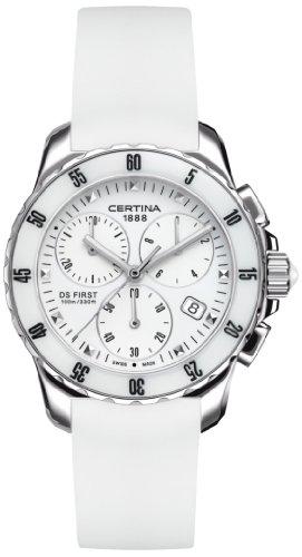 Certina Montre bracelet Femme XS Quartz Chronographe Caoutchouc C014.217.17.011.00