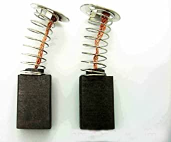 Paire de charbons moteur pour scie circulaire/scie sur table Dewalt, Black & Decker DW2