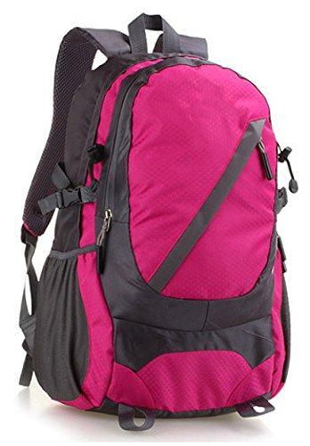 All'aperto Di Spalla Zaino Impermeabile Alpinismo Borsa Camping Borsa,Green-OneSize Pink