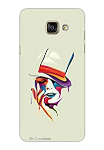MiiCreations 3D Printed Back Cover for Samsung Galaxy A5 (2016),Painting