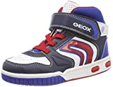 Geox Boys' Jr Gregg B Hi-Top Trainers