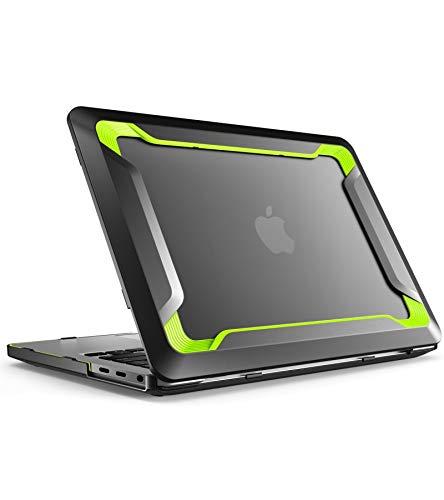 i-Blason Macbook Pro 13 2016/2017/2018 Hülle Gummiert Case TPU Schutzhülle Bumper Cover für Apple Macbook Pro 13 Zoll 2016/2017/2018 mit TouchBar und Touch ID (Grün)