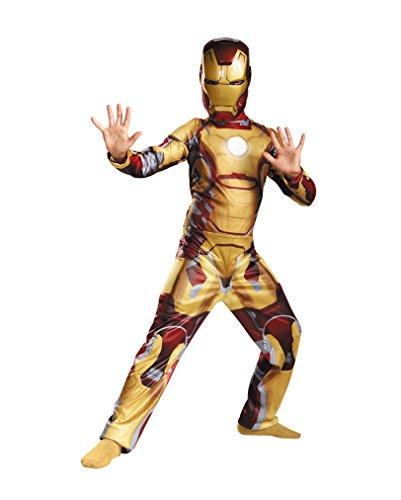 3 Kostüme Man Iron (Iron Man 3 Kostüm für Kinder)