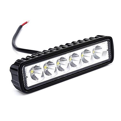 Yumeik 18W LED Clignotant la Barre de Travail Automatique de Voiture de Camion de Voiture de Signal de Voiture de SUV 12V conduisant la Lampe pour Hors Route