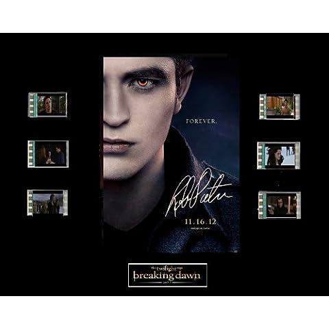 La Saga Crepúsculo: Amanecer - Parte 2 / Twilight Film Cell /fotogramas 35mm Presentation: Edward