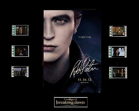 Twilight Breaking Dawn Part 2 Film Cell Presentation : Edward
