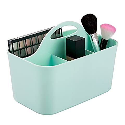 mDesign Cosmetic Vanity Organiser Caddy, Storage for Beauty Makeup, Hair