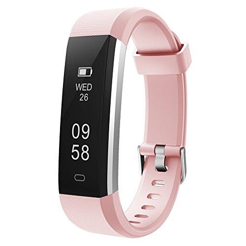 Imagen de coolead pulsera actividad mujer hombre reloj inteligente podómetro monitor de actividad impermeable ip67 fitness tracker pulsera deportiva con contador de calorías monitor de sueño para ios android