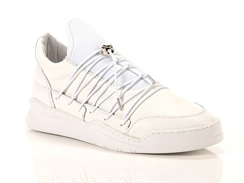 FILLING PIECES Sneaker Low Top Lee White Misura-40 5542502e57a