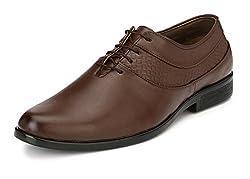 John Karsun Mens Tan Derby Shoes - 10 UK