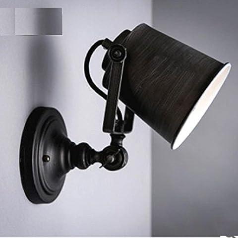 GTB American creative bedroom bedside lamp hotel restaurant aisle wall lamp , no light source