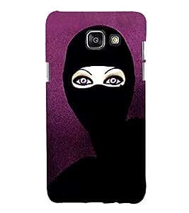 HiFi Designer Phone Back Case Cover Samsung Galaxy A3 (6) 2016 :: Samsung Galaxy A3 2016 Duos :: Samsung Galaxy A3 2016 A310F A310M A310Y :: Samsung Galaxy A3 A310 2016 Edition ( Cateyes Women Cat Girl Women )