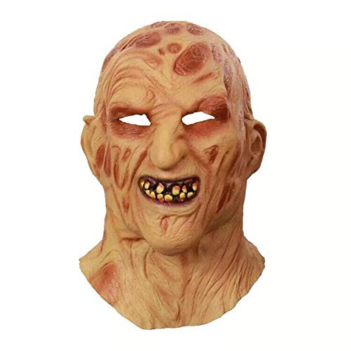 Nano WIA Halloween Terror Maske Deluxe Neuheit Halloween Kostüm Party Latex - Grim Reaper Deluxe Kostüm