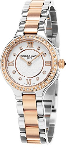 Frederique Constant Classics Delight FC-200WHD1ERD32B 26.5mm Diamonds Multicolor Steel Bracelet & Case Synthetic Sapphire Women's Watch
