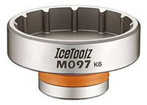 IceToolz 12-Tooth BB Installation Tool, Schwarz M