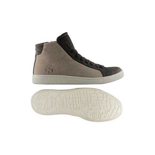 Sneakers - 4532-suesyntleam Sand-DK Brown