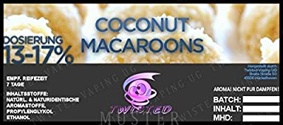 Twisted Aroma Coconut Macaroons von Twisted Vaping