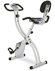 Tecnovita by BH Back Fit Bicicleta estática plegable, Unisex adulto, Blanco / Verde, Única