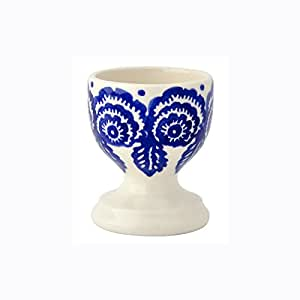 Emma Bridgewater - Blue Hen & Border - Egg Cup