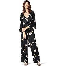 TRUTH   FABLE Maxi Tuta Kimono a Fiori Donna fbe1a2ee43d