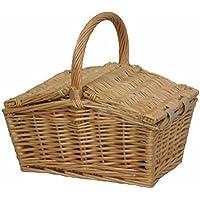 Doble Pequeña Lidded Picnic Basket
