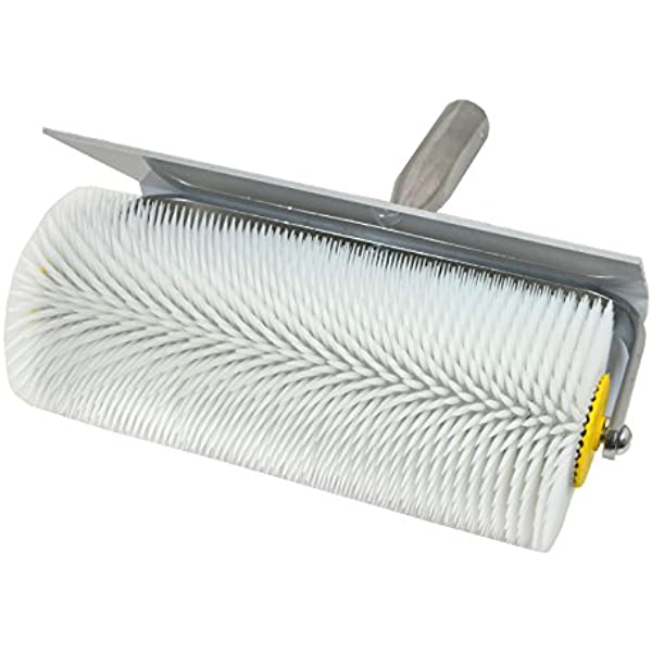 Stachel l Entl/üftungswalze Entl/üfterrolle /ø= 110mm Handstachelwalze = 40mm Betonentl/üfterrolle in Profi-Qualit/ät b= 230mm DEWEPRO Entl/üftungsroller Stachelwalze