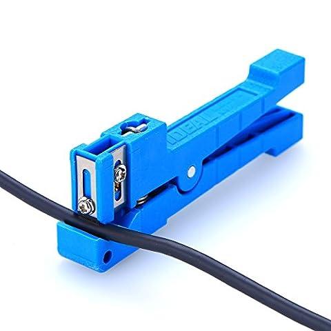 Fibre optique Outil 45–163Fibre Loose Tube mémoire tampon de fibre optique Transverse Tube câble coaxial Stripper Coax de décapage Outil à Main Pour