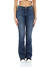 Wrangler Bootcut Authentic Blue, Jeans Femme