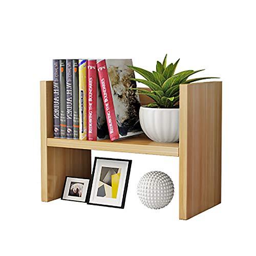 OOFAYHD Desktop Blumenständer Computer Desktop Mini Blumentopf Aufbewahrungsregal Einfache Büro Kleine Bücher Regal Balkon Pflanze Display Stand - 40X20X30 cm -