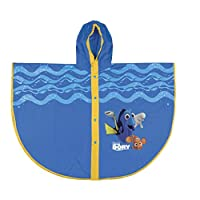 PERLETTI 99118 Raincoat Poncho Finding Dory, Multi Colour, One Size