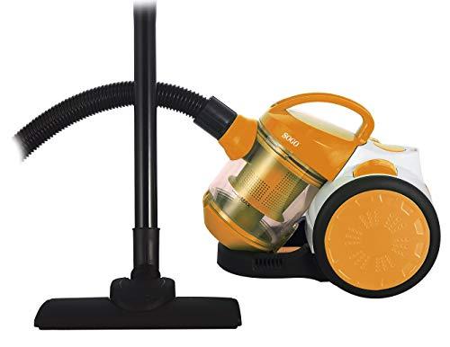 Aspiradora multi-ciclónica sin bolsa-1L-700W-120W Succion-naranja