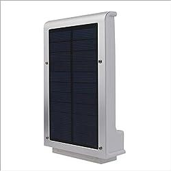 jiguoor 2W 49LED Solar Power Street Light PIR Motion Sensor Lampen Garten-Sicherheit Lampe im Street wasserdicht Wandleuchte