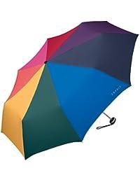 ESPRIT Mini Alu Light Pocket Umbrella umbrella Excl. Aut. Only 200g multicolor Rainbow