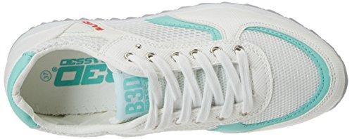 XTI Damen 41285 Sneaker Weiß (Blanco)
