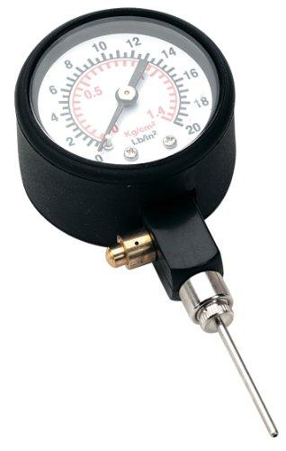 Precision - Medidor de presión para balones de fútbol negro negro Talla:talla...