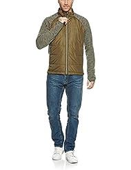 Tatonka Hombre alini M 'S Jacket Chaqueta, Otoño-invierno, hombre, color verde oliva, tamaño small