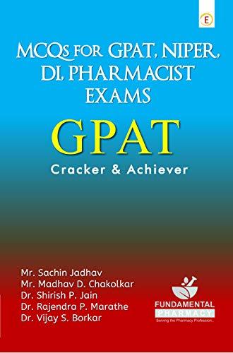 MCQs for GPAT, NIPER, DI, PHARMACIST EXAMS