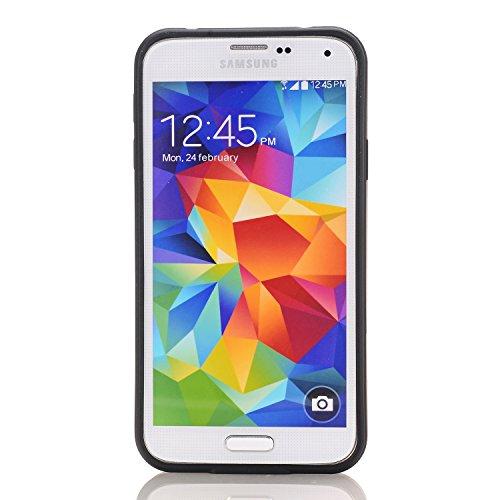 Galaxy S7 Edge Coque,EVERGREENBUYING [Slider Series] Ultra Slim léger 2 en 1 SM-G9350 Cases [Porte coulissante semi-automatique][Housse de Protection] [Fente pour Carte] Cover Pour Samsung GALAXY S7 E Blanc
