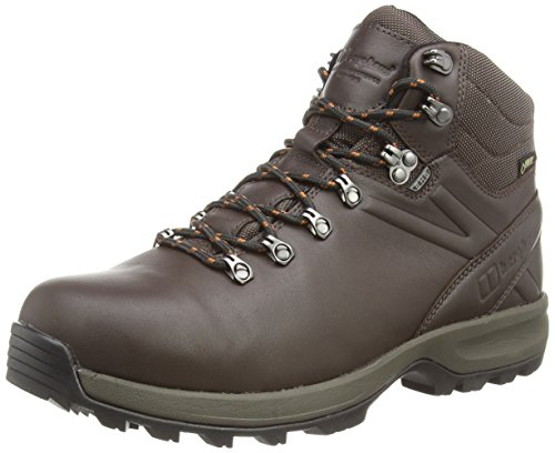 Explorer Gtx Boot (Berghaus Herren EXP Ridge VII GTX TECH Boot AM DKBRN/ORG Trekking-& Wanderstiefel, Braun Leather Brown, 42 EU)