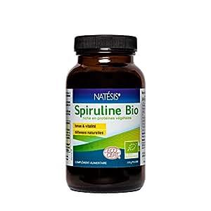 NATESIS Spiruline Bio Poudre Fine/120 g
