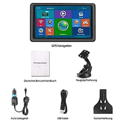 GPS-Navi-Navigation-fr-Auto-16G-256M-7-Zoll-LKW-PKW-KFZ-Navigationsgert-Lebenslang-Kostenloses-Kartenupdate-Touchscreen-POI-Blitzerwarnung-Sprachfhrung-Fahrspurassistent-2019-EU-UK-52-Karten