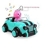 BeebeeRun Spielzeug ab 1 2 Jahre mädchen, ferngesteuertes Auto,Spielzeug für Baby Kinder Kleinkind Mädchen Jungen,Lichtern und Musik für BeebeeRun Spielzeug ab 1 2 Jahre mädchen, ferngesteuertes Auto,Spielzeug für Baby Kinder Kleinkind Mädchen Jungen,Lichtern und Musik
